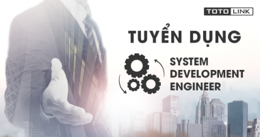 Tuyển dụng System Development Engineer